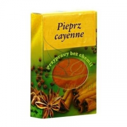 Cayenne pepper pack 60gr